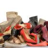 Sortierte Schuhware